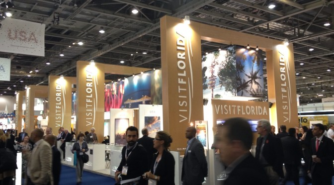 Visit Florida Stand at WTM