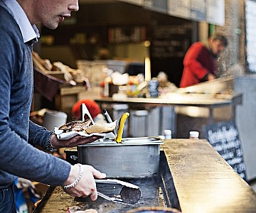 London Food Vendor
