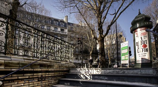 Paris Metro Exit