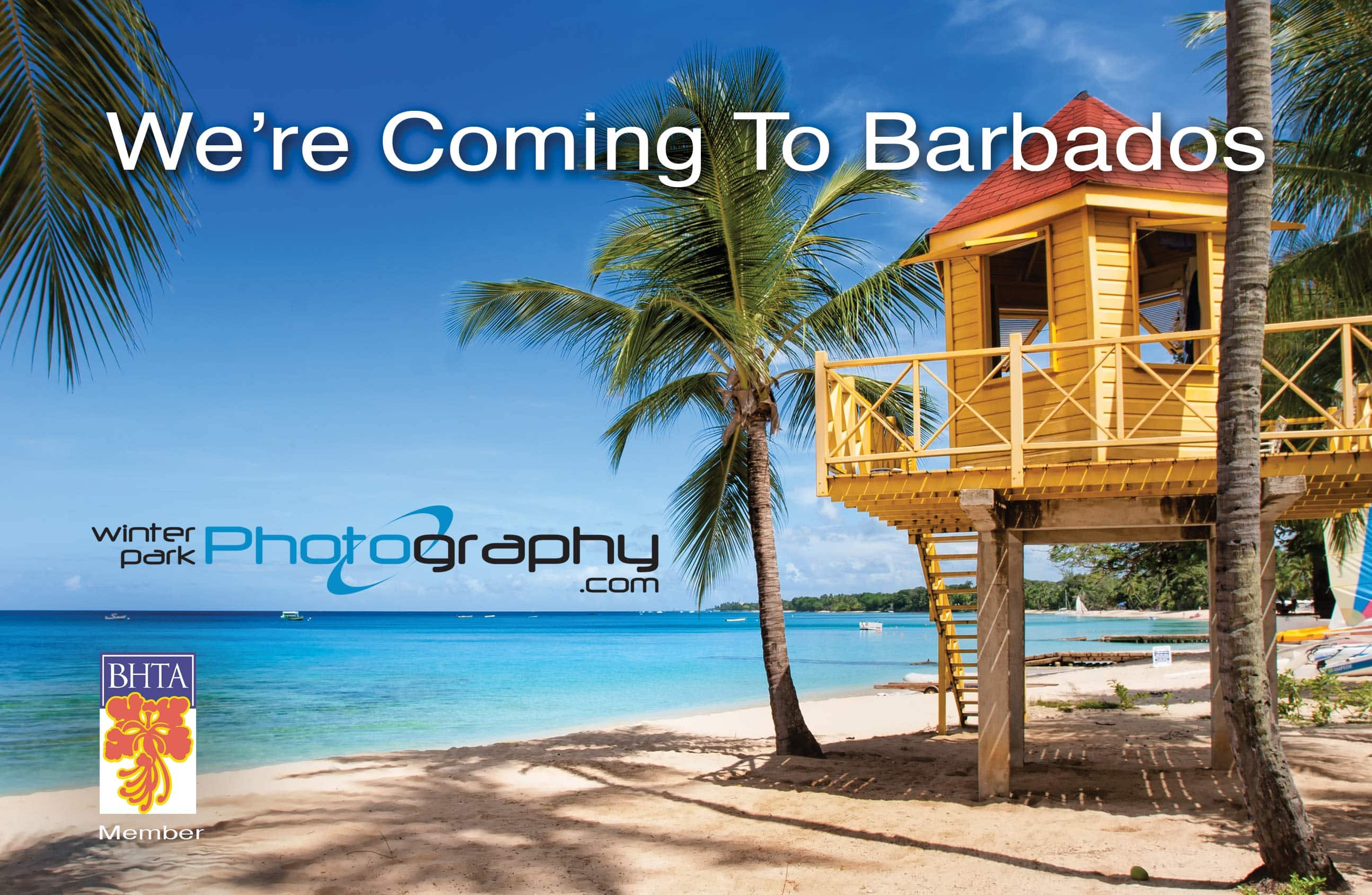 Winter Park Photography is Coming to Barbados