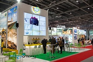 World Travel Market 2014 Brasil Booth