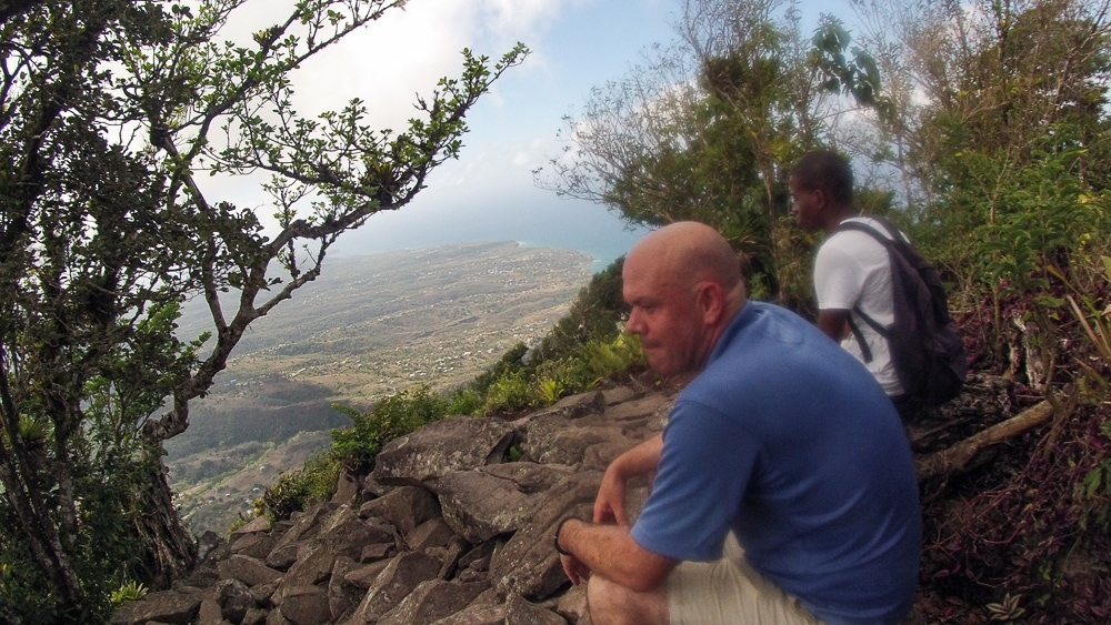 Reached the Summit of Gros Piton in the Caribbean