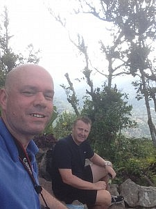 Top of Gros Piton