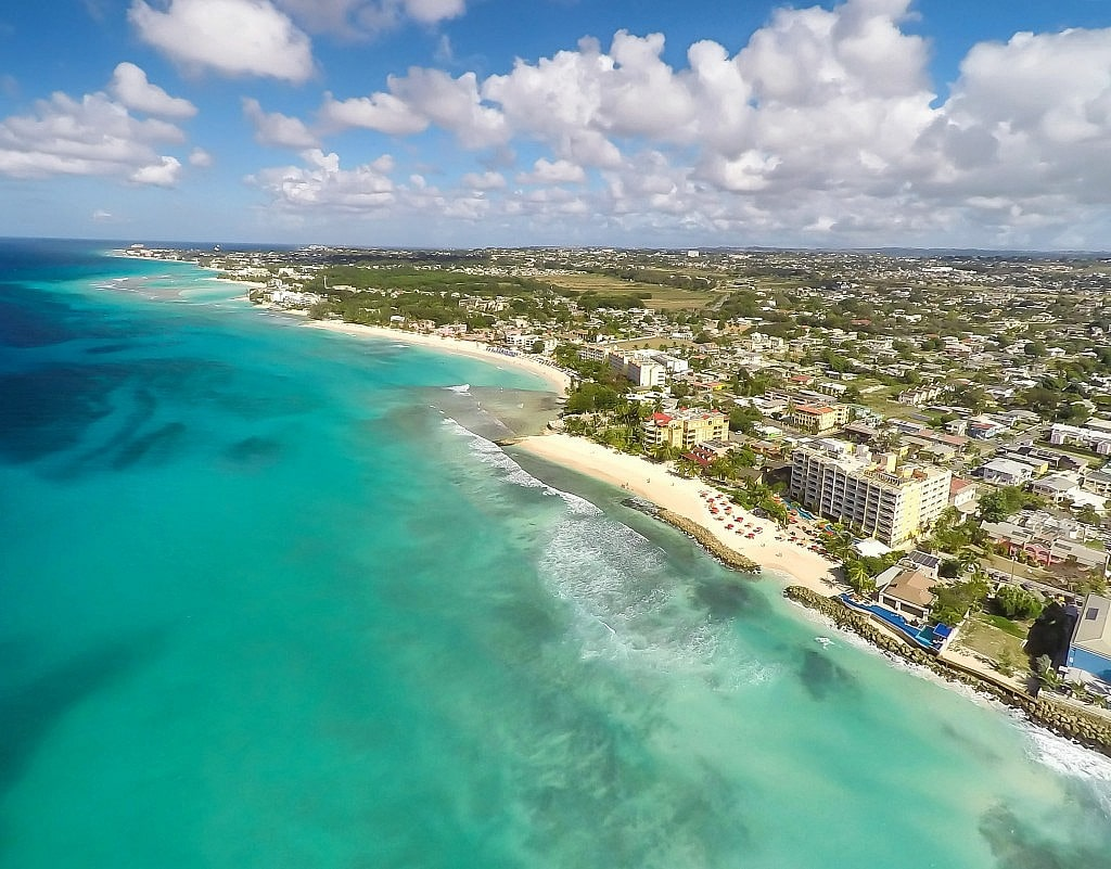 Hotel Drone Photography in the Caribbean on the South Coast of Barbados