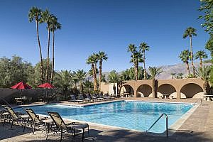 Swimming Pool at Borrego Springs Resort in California