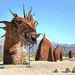 Ricardo Breceda's Sand Serpent Sculpture