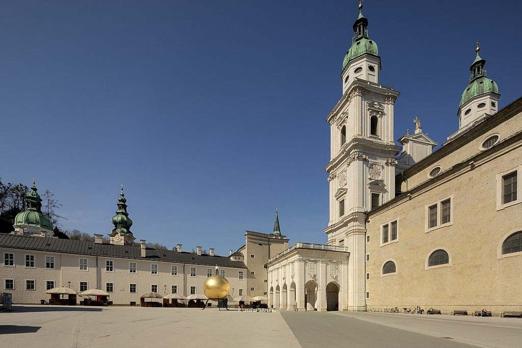 Kapitelplatz and Salzburg Cathedral