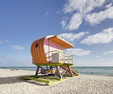 Miami Beach Lifeguard Hut