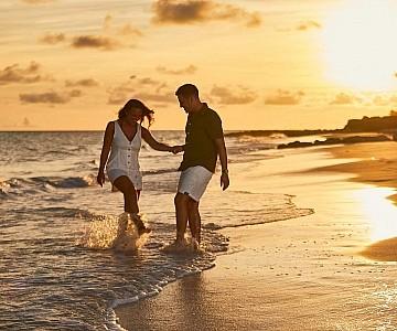 Couple at Sea Breeze Barbados