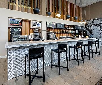 Bar at the Courtyard by Marriott, Austin, Texas